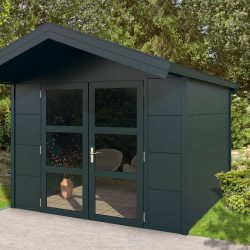 Outdoor Garden Cabin with Saddled Roof