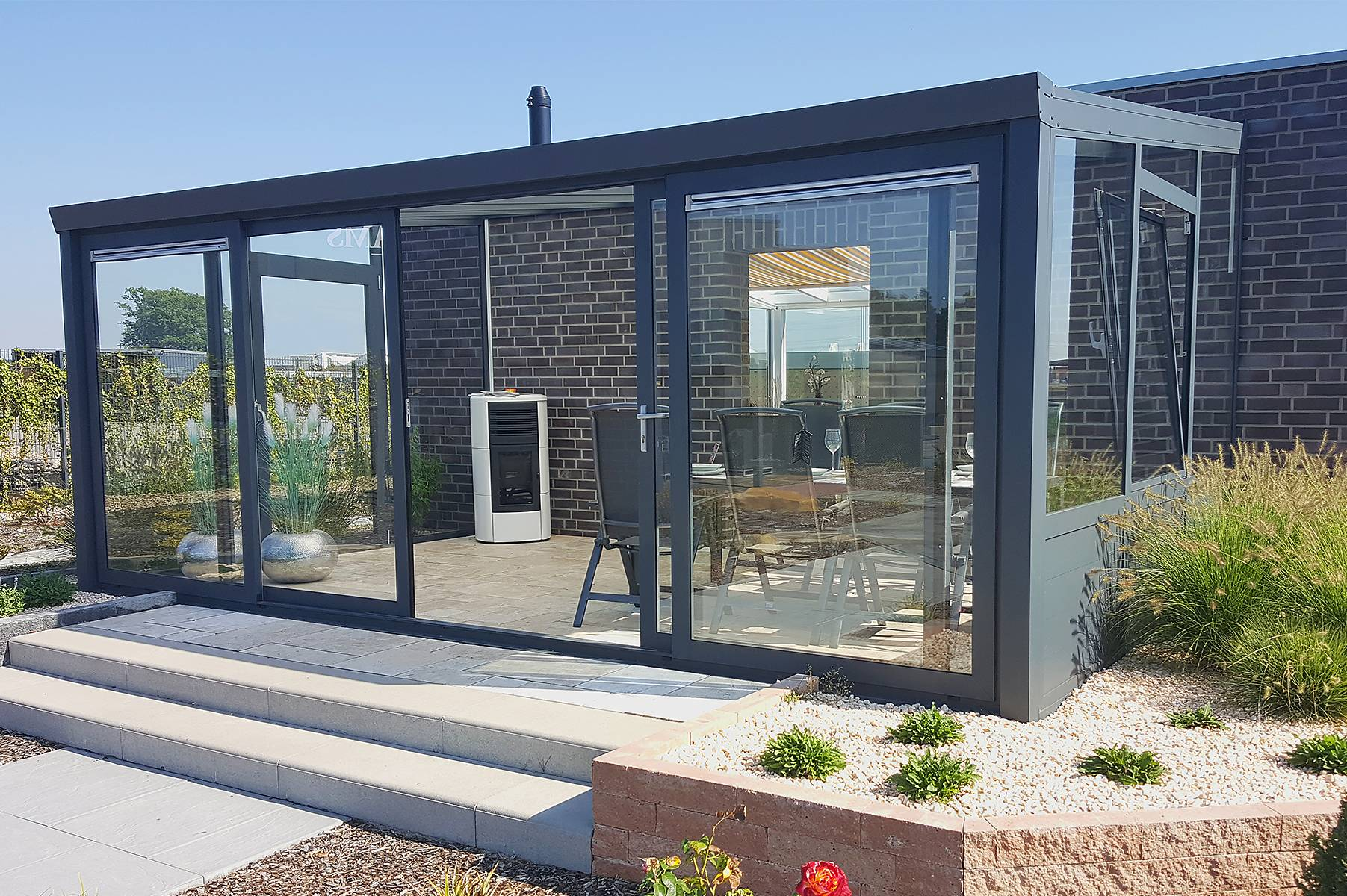 Garden Rooms Ireland Garden Room With 4 Piece Sliding Doors