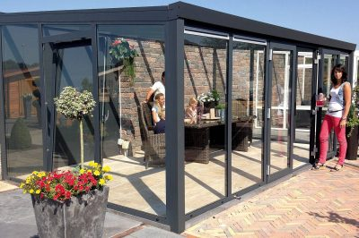 Complete Garden Rooms with Double Doors