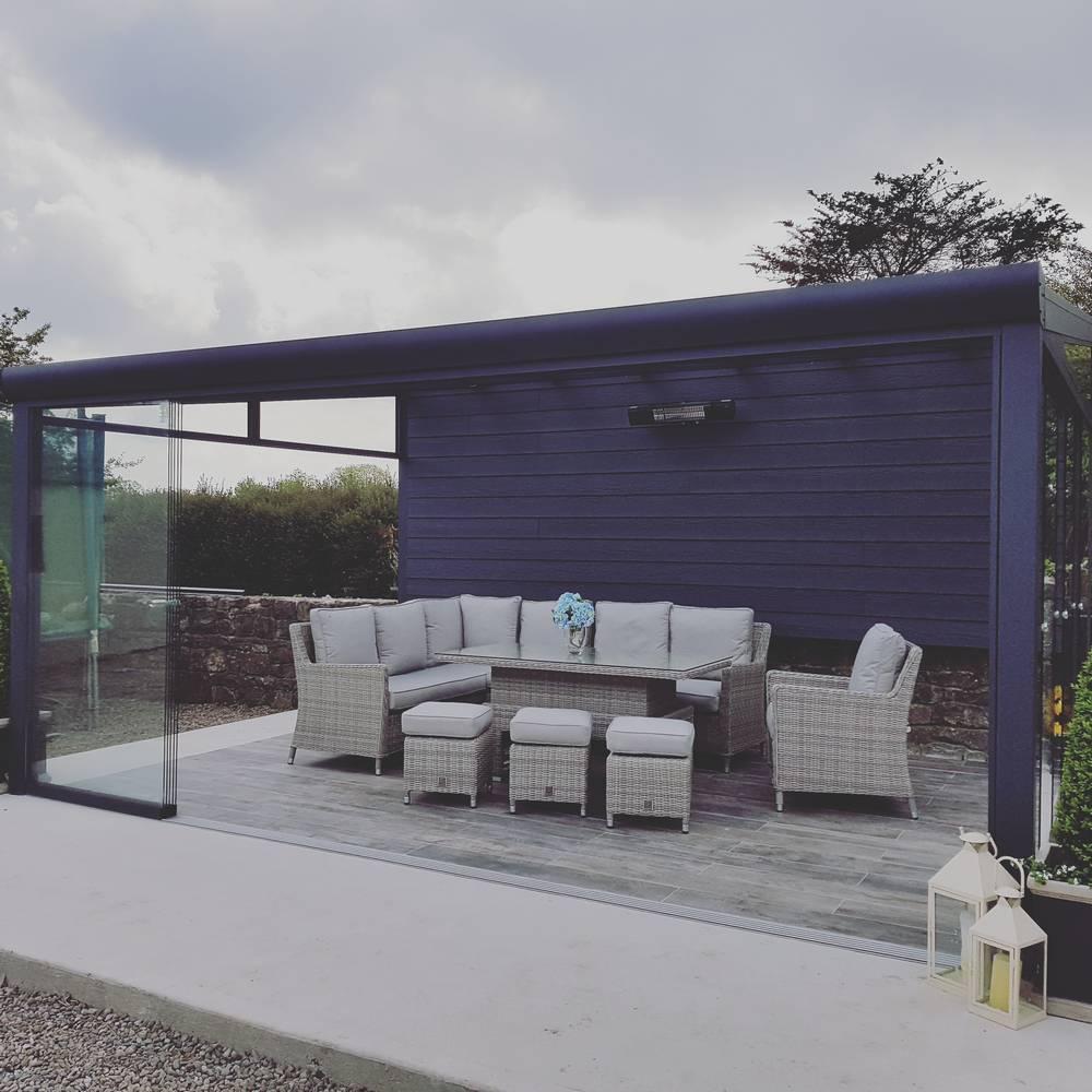 Garden Room installation in Limerick