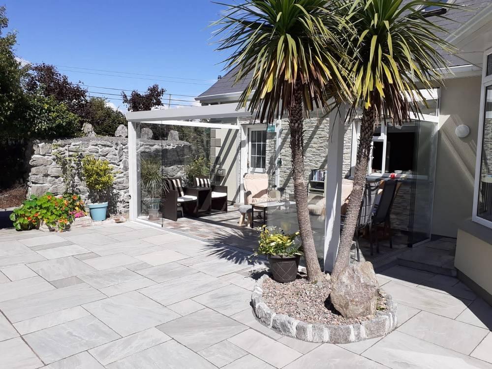 Veranda installation in Clare