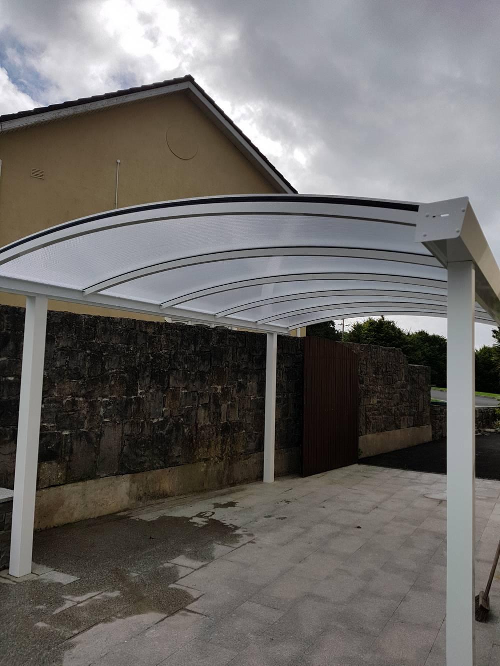 Carport installation in Limerick