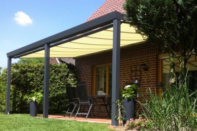 Under-roof Sun Awnings with Tracfix